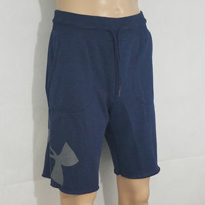 Under Armour Mens Fleece shorts Blue Training